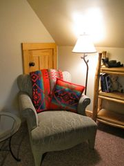 Crested Butte cottage photo - Bedroom 1 - Cozy reading nook!