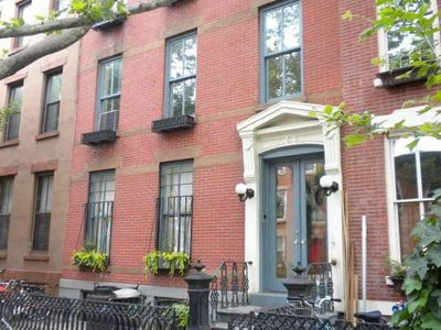 Classic Brownstone on Safe and Lovely Block!