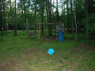 Cresco house photo - Backyard with Playground