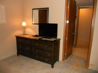 Puerto Penasco condo photo - Bedroom Dresser with flat screen TV and DVD player.