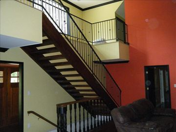 The Handmade stairs and staircase