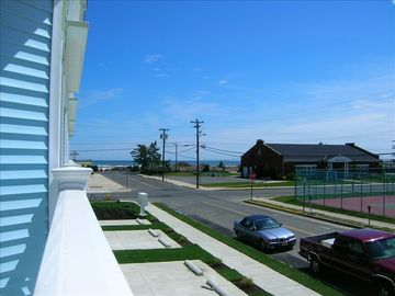 Wildwood Crest condo rental - View from the Patio