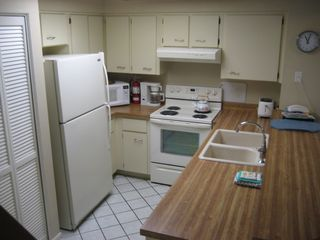 St. Augustine Beach condo photo - Fully-equipped kitchen