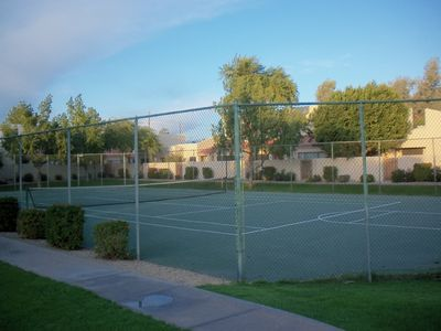 Tennis and Basketball court