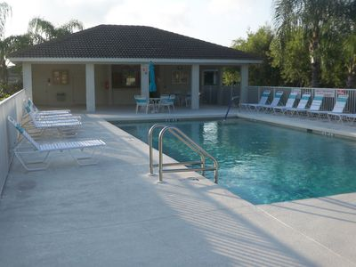 South Venice villa rental - Neighborhood Pool. Quiet and secluded. Around corner from Villa.