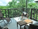 Enjoy the view from the covered patio
