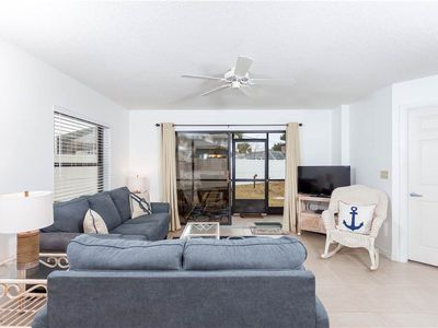 Ocean Village Club is the place you need spend your vacation! - Lounge beneath the palm trees poolside for a sweet vacation treat! Our St. Augustine condo has it all -- great location, great views, two swimming pools, tennis courts and exquisite furnishings!