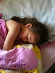 Nassau & Paradise Island cottage photo - angel sleeping after hot day in the bahamas (ace)