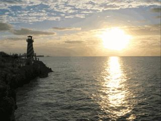 Grand Bahama Island cottage photo - Sunrise view at High Rock Lighthouse