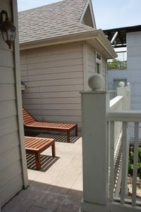 Front Balcony with Sundeck