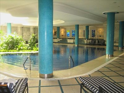 SPA, indoor pool, Gym,treatments, is available in the adjacent building