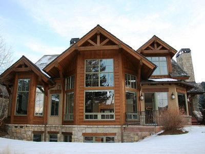 Welcome to this simply amazing high-end Arrowhead home along the river by skiing