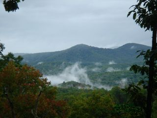 Blue Ridge cabin photo - Breathtaking view from Cherry Log Mountain Retreat