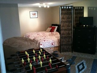 Manitou Springs townhome photo - Foos ball/ air hockey table, movies, games! Great room for the kids!