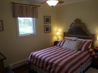 Miminegash cottage photo - Second bedroom offers a double bed