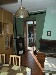 Apartment in the center, with balcony overlooking the lake very quiet