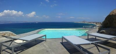 Luxury villa with pool on the most beautiful site of Naxos (EOT 1174K92001054901)