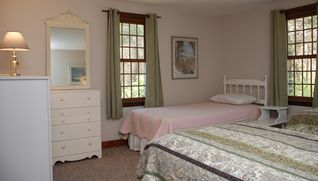 Dennis Village house photo - first floor bedroom with three twin beds
