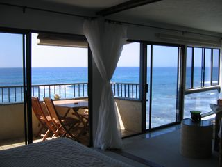 Kailua Kona condo photo - View from the MasterKing Bed and Bath Tub