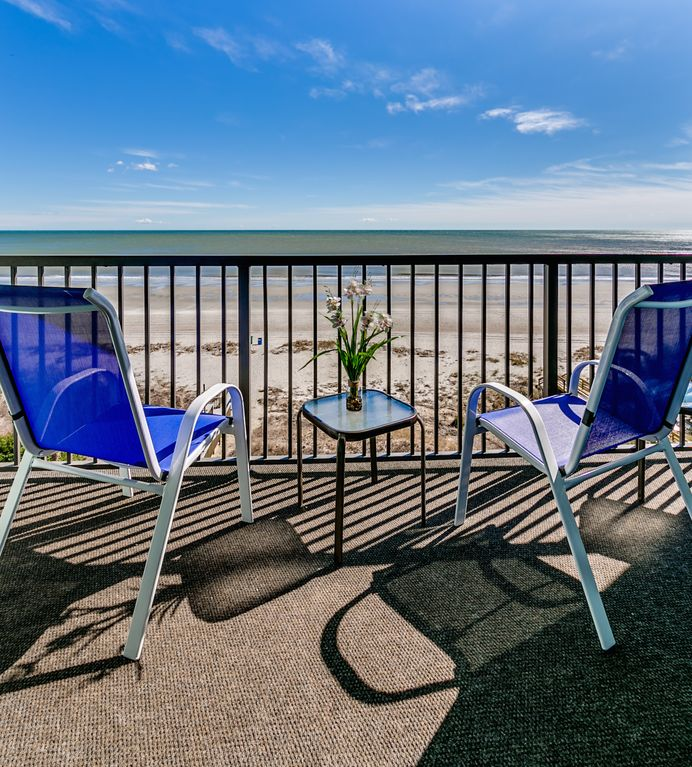 Luxury Oceanfront Two Bedroom Two Bath Condo at Carolina Dunes! (5th Floor)