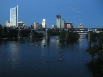 Enjoy Rowing, Canoeing, Kayaking or SUP on Lady Bird Lake