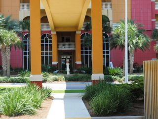 Calypso Resort condo photo - The Carribean Colors and Stately Columns simply draw you in.