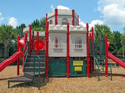 Castle-Themed Playground