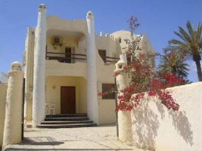 ** House and charming guest table in typical Berber LUXURY VILLA SEA VIEW playpen **