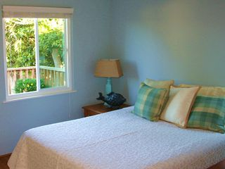 Pacific Grove house photo - Master bedroom with new windows, fresh paint - and views of the bay from the bed