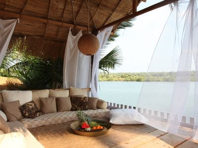 Riverview Villa : B&B /  Villa With River And Sea View