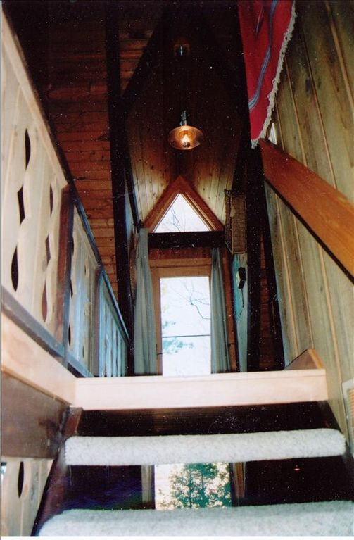 View from the stairs to Upper Floor