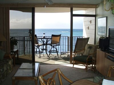 Kahana condo rental - VIEW FROM UNIT June 2012