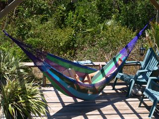 Lubbers Quarters Cay cottage photo - Easy to fall asleep in the moondeck hammock reading your favorite books