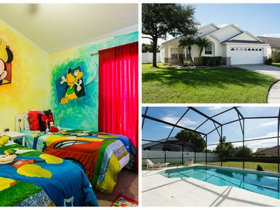 Stunning Rental in Kissimmee w South Facing Pool / minutes from WDW FREE WIFI