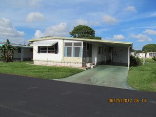 New Port Richey mobile home photo - Curb View
