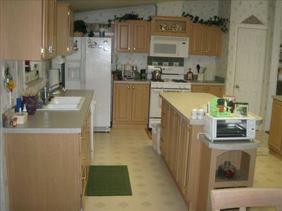 Kitchen with Center Island