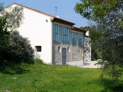 Arqua Petrarca: House with  great garden and a fine view of the country