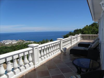 Panoramic Deck overlooking the Atlantic Ocean and the Caribbean Sea