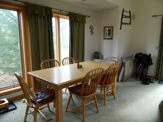 Carrabassett Valley condo photo - Upper unit: Dining room area