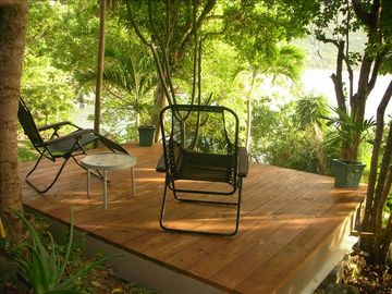 Relax under a canopy of trees
