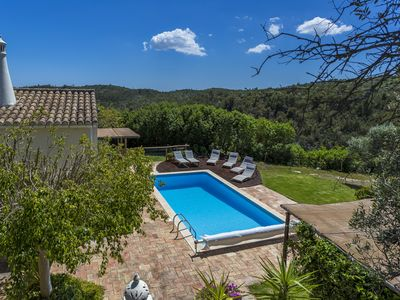 Quiet Countryside Villa,10 mins to beach Tipi /games area,Private Pool Sleeps 11
