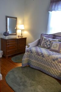 Bedroom #3 is a twin bed with trundle