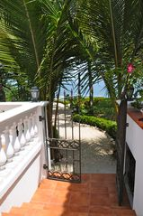 Playa Carrillo villa photo - Private path to the beachfront