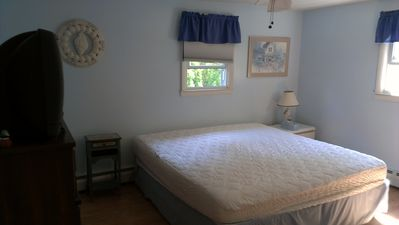 Narragansett house rental - Master Bedroom - All 3 bedrooms are similar size