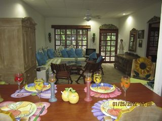 San Juan del Sur condo photo - Colorful setting makes every meal lively and fun