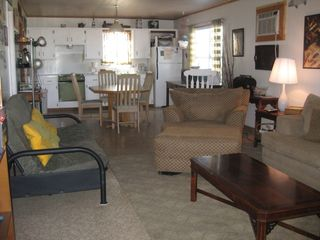 Living room to kitchen - Rockport house vacation rental photo