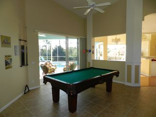 Port Charlotte villa photo - Room with pool table