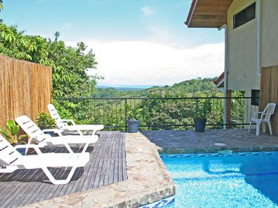 Manuel Antonio house rental - Casa Sophia has ocean, rainforest and mountain views from every room in the home