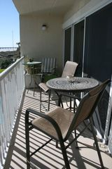 Jacksonville Beach condo photo - With balcony height seating to enjoy the views.