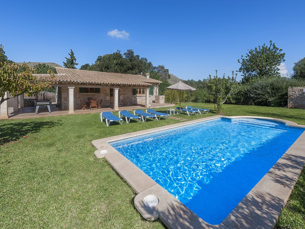 Villa cal rei villa with private swimming pool and for Garden 7 pool